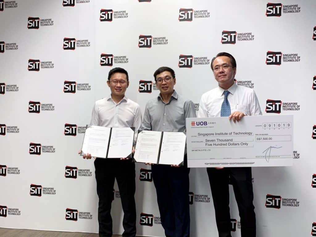 BR Metals has set up the BR Metals Scholarship for the Bachelor of Science with Honours in Chemical Engineering at the Singapore Institute of Technology (SIT)