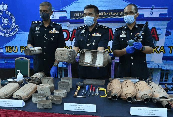 Catalytic converter thefts are prevalent in Malaysia and tips to not become a victim.